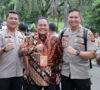 Dodi Reza Hadiri Rakornas PB Bersama Jokowi da BNPB