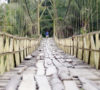 Jembatan Desa Tanjung Tengah dan Babatan Ulu Direhab
