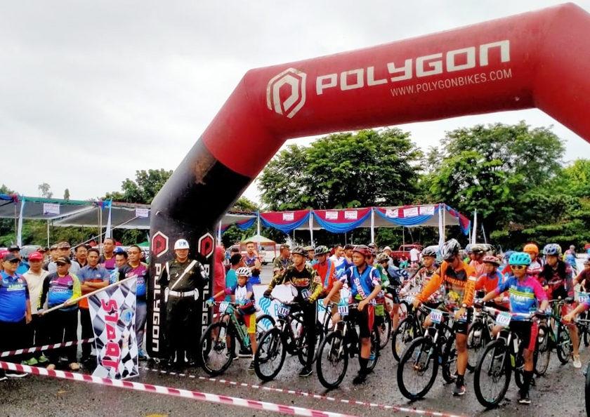 Haryanto Buka Kejurda Balap Sepeda Bupati Cup