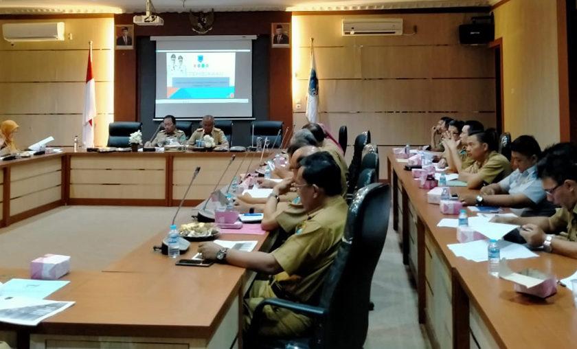 Bappeda Rapat Bahas Realisasi APBD, TP, DAK dan Capaian Kinerja Program 2019