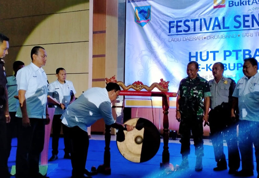 HUT KE-39, PT BA Gelar Festival Seni Pelajar