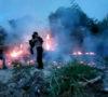 Hangus Terbakar Lahan Milik PT IPS Sei Kepayang Asahan