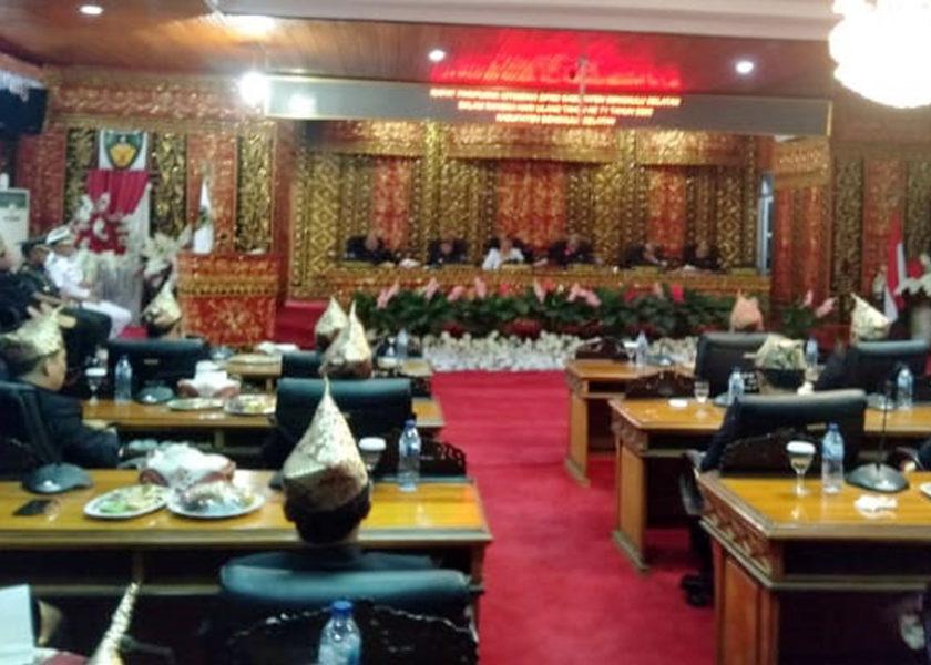 DPRD Gelar Paripurna HUT Bengkulu Selatan Ke-71