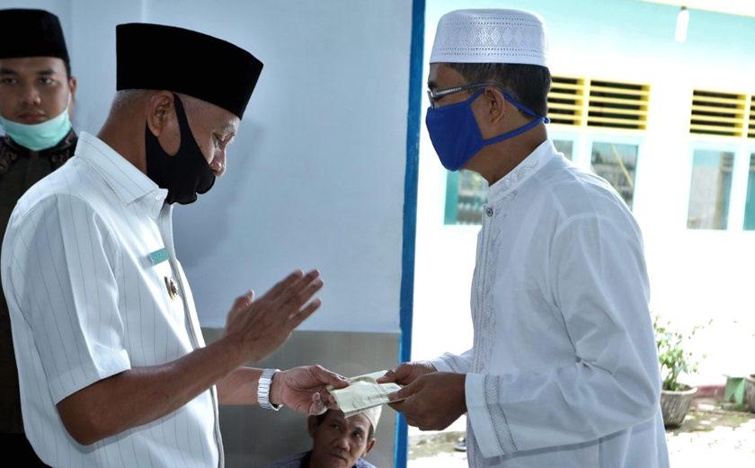 Bupati Asahan Safari Ramadhan di Masjid Al-Falah Kecamatan Pulau Rakyat