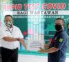 Pemkab Muba Fasilitasi Rapid Test Bagi Warga dan Wartawan