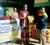 Ditengah Wabah Virus Covid-19, Bomba Group Bagikan Beras