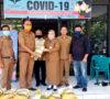 Peduli Dampak Covid-19, Bagian Perlengkapan Setda Lahat Serahkan Bantuan