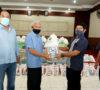 Kebun PTPN IV Air Batu Serahkan Bantuan Sembako