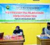 Gelar Rapat Musdes dan Pra Pelaksanaan Pembangunan, Kades Semangati Warga