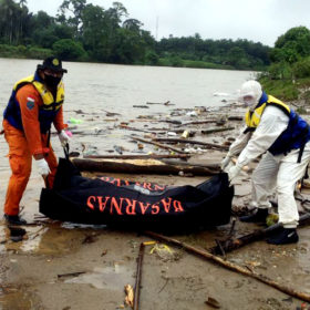 Jasat Warga Bengkulu Ditemukan Mengapung di Sungai Rawas
