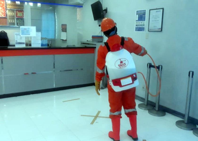 Karyawan Bank BRI Air Joman Dinyatakan Positif Covid-19