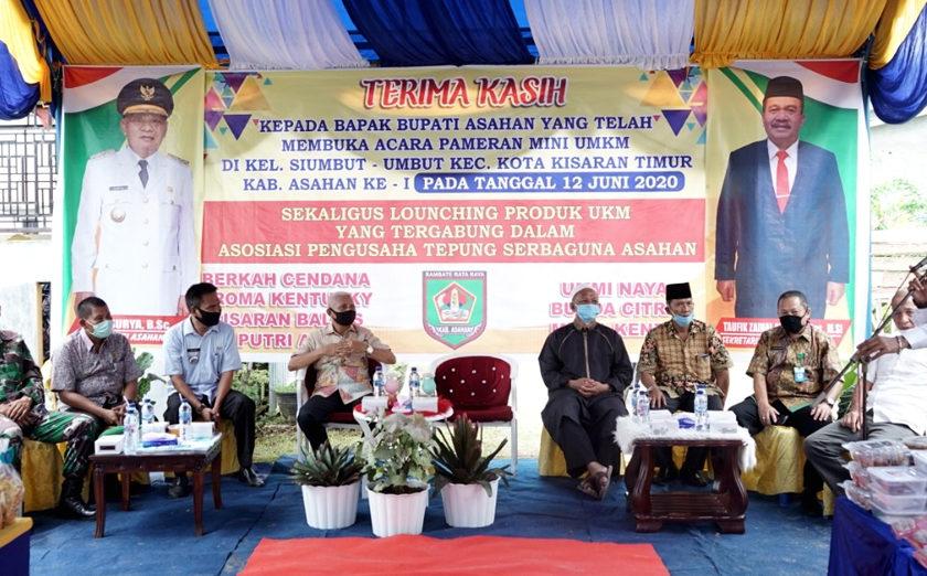 Bupati Launching Pameran Mini UMKM