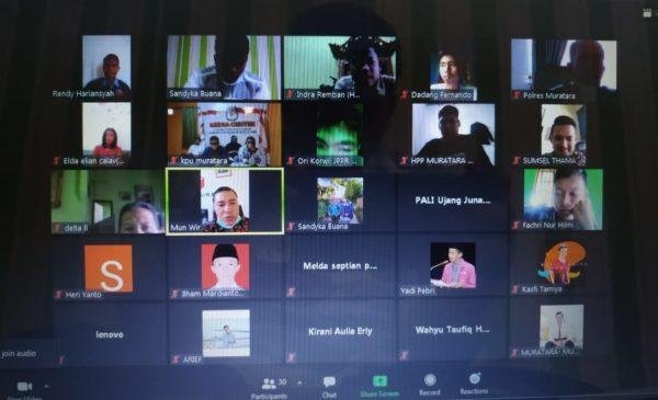 Sadar Peran Milenial, GMI dan Fostara Gelar Diskusi Online Menuju Pilkada Damai Ala Covid-19