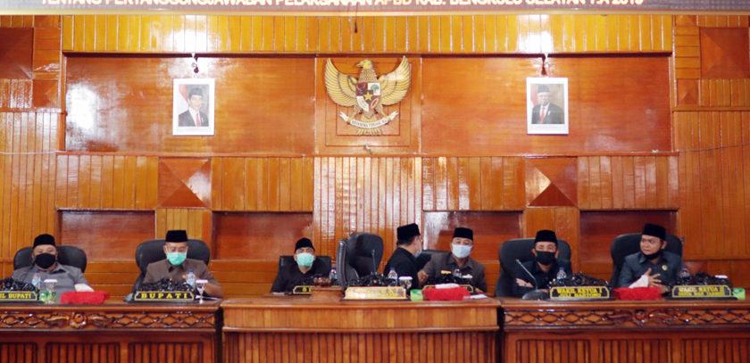 DPRD Bengkulu Selatan Gelar Paripurna Penyampian Jawaban Bupati