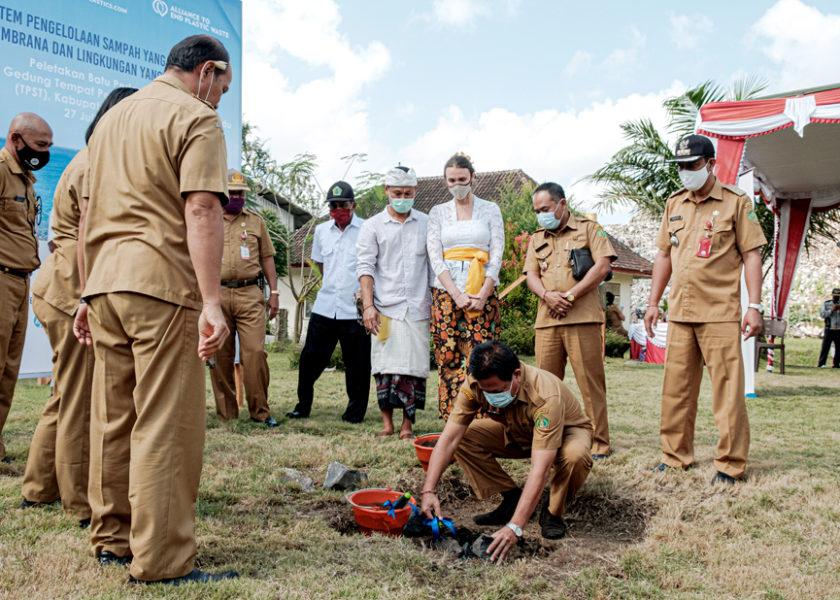 Fasilitas Pengolahan Sampah di Kabupaten Jembrana Mulai Dibangun