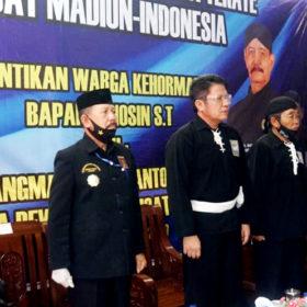 Kangmas Lanosin Jadi Warga Kehormatan PSHT