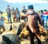 Launching Pemanfaatan Limbah Pertanian, Bupati Rosjonsyah Kembali Salurkan Sembako