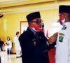Pengukuhan Paskibraka Kabupaten Lebong HUT Republik Indonesia ke-75