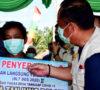 Bupati Lahat Hadiri Penyerahan BLT Desa Gumay Talang