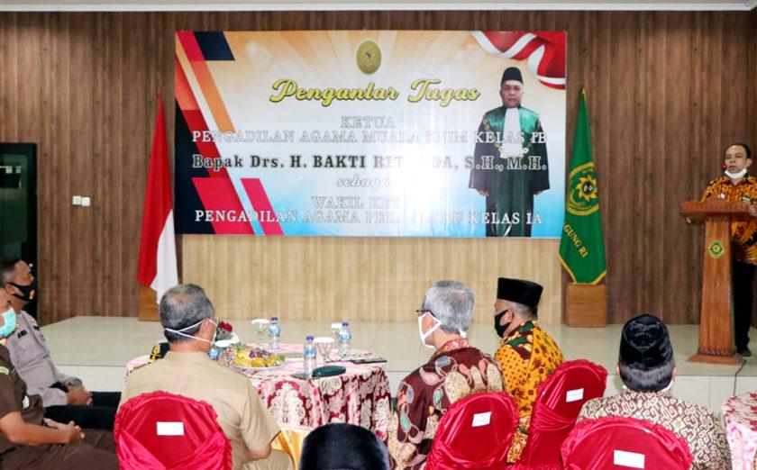Husaini Jabat Ketua Pengadilan Agama Muara Enim