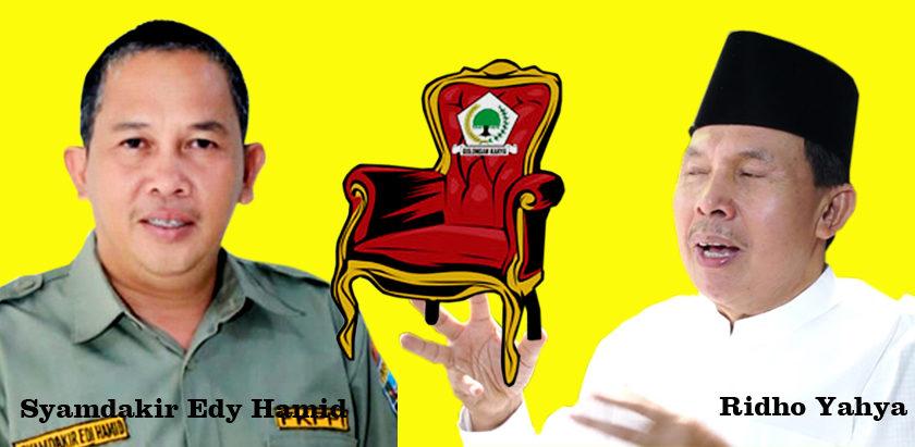 Rebut Ketua Golkar Prabumulih, Syamdakir Anak Mantan Pesirah Siap Hadapi Ridho Yahya