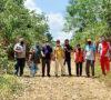 Komitmen Majukan Dunia Pendidikan, Jalan Masuk Dua Sekolah di Cor Beton
