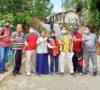 Bangun Talud Dan Pondasi Jembatan Wirakarya