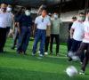 Tendangan Dewa Tanda Dibuka Turnamen Futsal Jurnalis