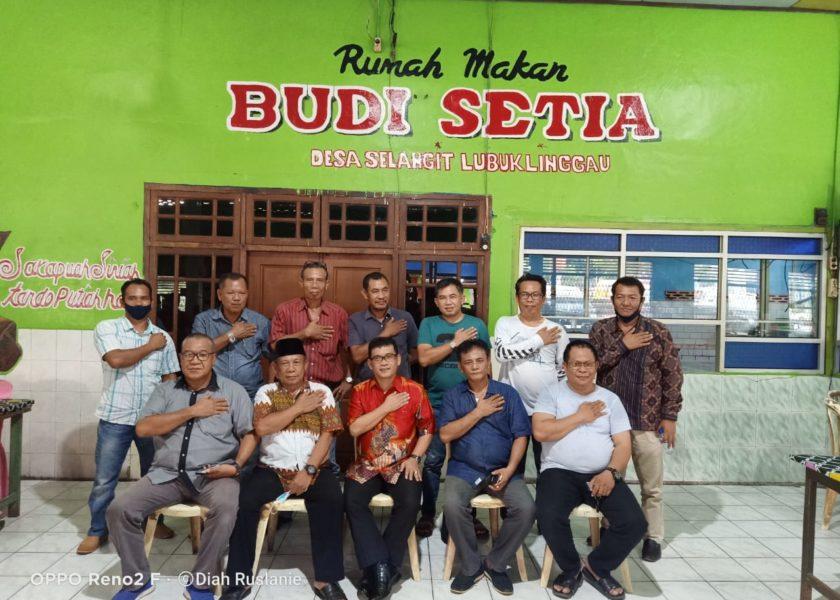 Solid Keluarga Budi Setia Deklarasi Dukung HDS-Tullah