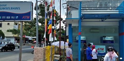 Terapkan Perwako No 70, BSB Prabumulih Sediakan Fasilitas Protkes di ATM