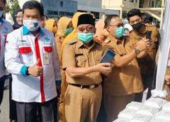 Wakil bupati H Haryanto yang membuka secara resmi Festival bersama ASN.