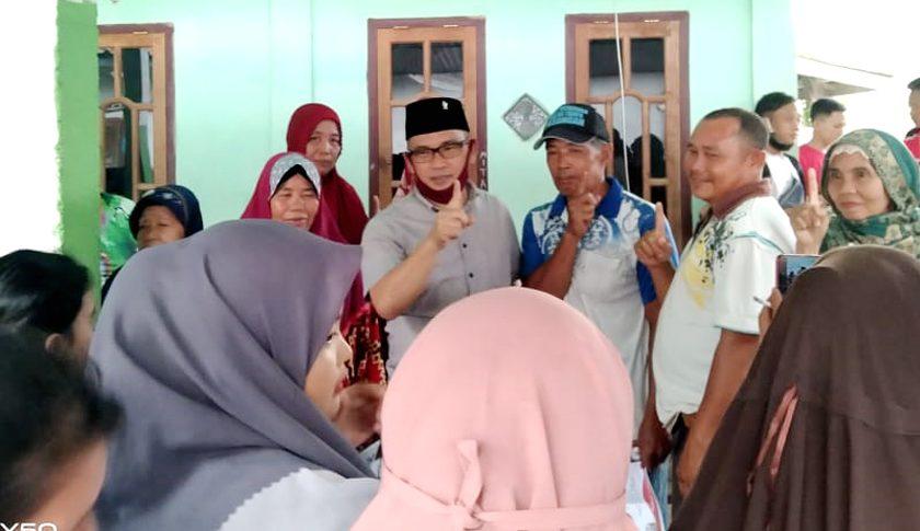 Masyarakat Lubuk Mas Menaruh Harapan dengan Devi Suhartoni-Inayatullah