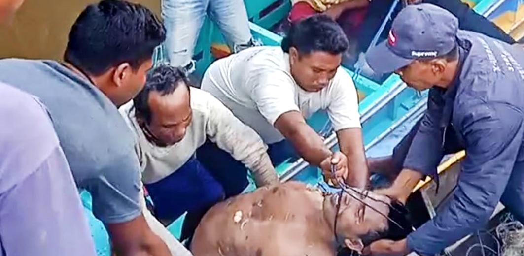Rustam (35) warga Desa Sri Menanti, Kecamatan Tanjung Lago, Kabupaten Banyuasin ditemukan tewas diterkam buaya.