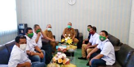 Astabar Serikat Media Siber Indonesia Audensi dengan Plh Bupati Asahan