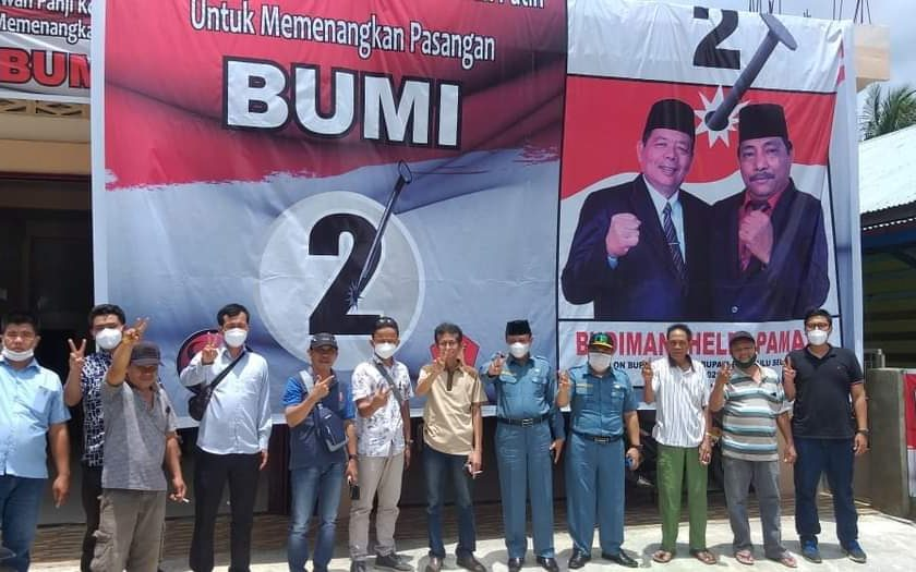 Dua Karyawan PDAM Kota Ikut Kampanyekan Paslon Bupati Dan Wakil Bupati Bengkulu Selatan