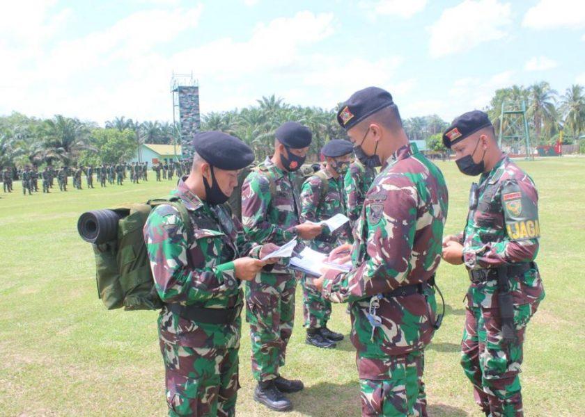 Yonkav-5 DPC Karang Endah Terima Kunjungan Tim Pussenkav Kodiklat TNI AD
