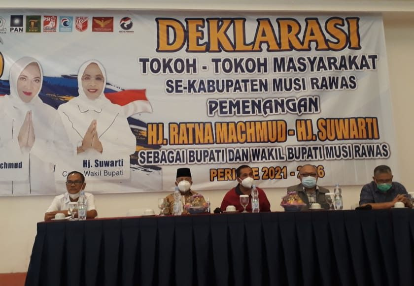 Tokoh Masyarakat Deklarasikan Diri Menangkan Ratna-Suwarti