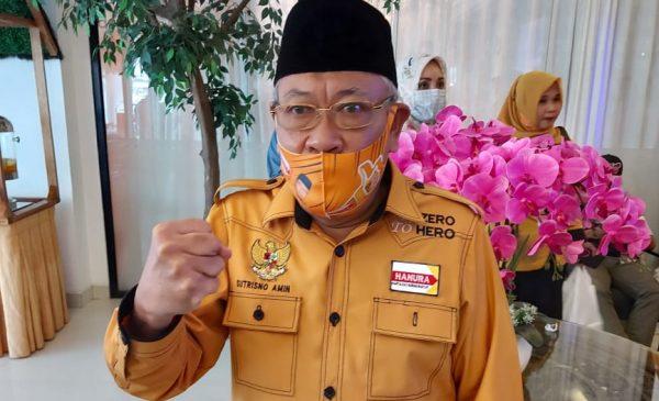 Sutrisno Amin Kembali Terpilih Ketua Hanura Lubuklinggau