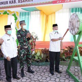 Camat Resmikan Pembukaan MTQ dan Festival Nasyid 2021 ke-52