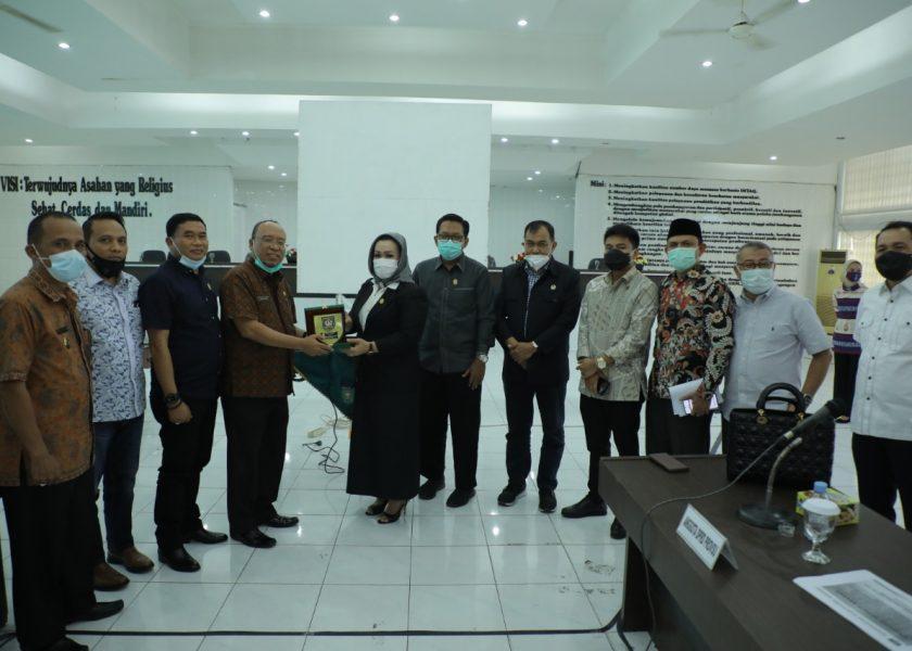 Kunker Komisi A DPRD Provsu di Kabupaten Asahan