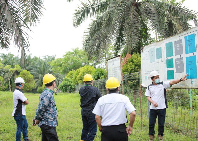 Ketua dan Wakil Ketua DPRD Bengkulu Tinjau Pengolahn Limbah Pabrik PT BSL
