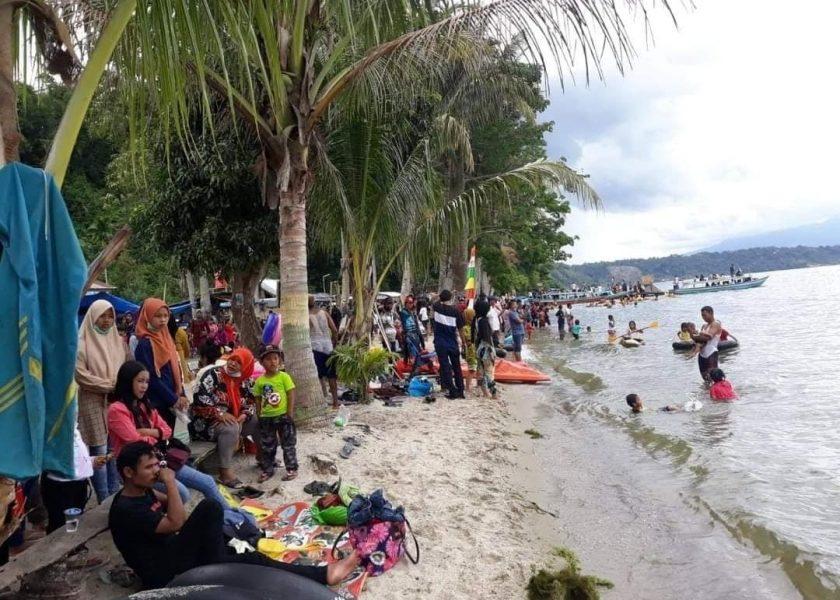 Meski Masa Pandemi, Danau Ranau Tetap Dikunjungi Masyarakat
