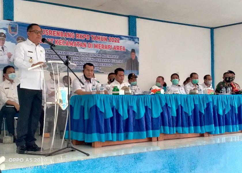Musrenbang Kecamatan Merapi Area Tampung Usulan Pembangunan Skala Prioritas