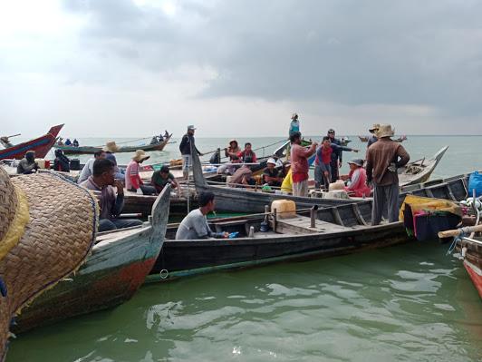 Kapal Tank Thailand Pencari Kerang Bebas Beroperasi di Tambun Tulang, Pihak Terkait Diduga Tutup Mata