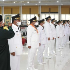 Resmi Dilantik Bupati dan Wakil Bupati Kabupaten Asahan