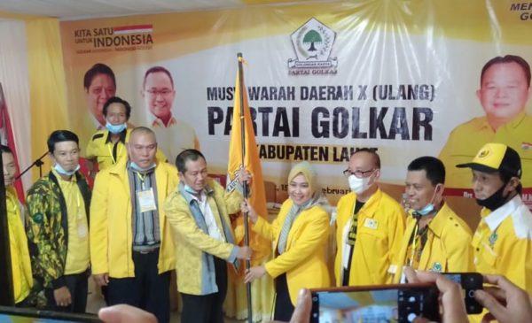 Musda Ulang Memutuskan Sri Marhaeni Wulansih Sebagai Ketua Partai Golkar Lahat