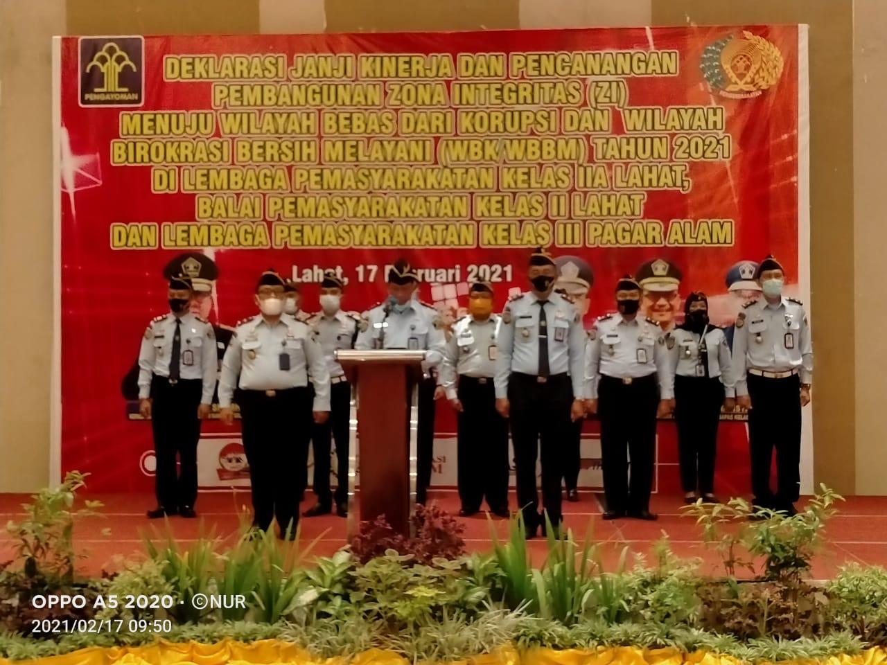 Kepengurusan DPD REI Lahat dan Pagaralam dilantik.