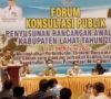 Bupati Buka Kegiatan FKP Awal RKPD Kabupaten Lahat Tahun 2022