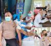 193 Personel Polres dan 13 Siswa Secaba Suntik Vaksin