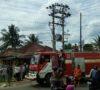 Diduga Konsleting Arus Pendek, Warung Ludes Terbakar